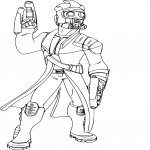 Coloriage Star Lord