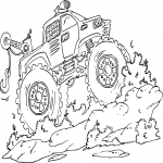 Monster Truck dessin