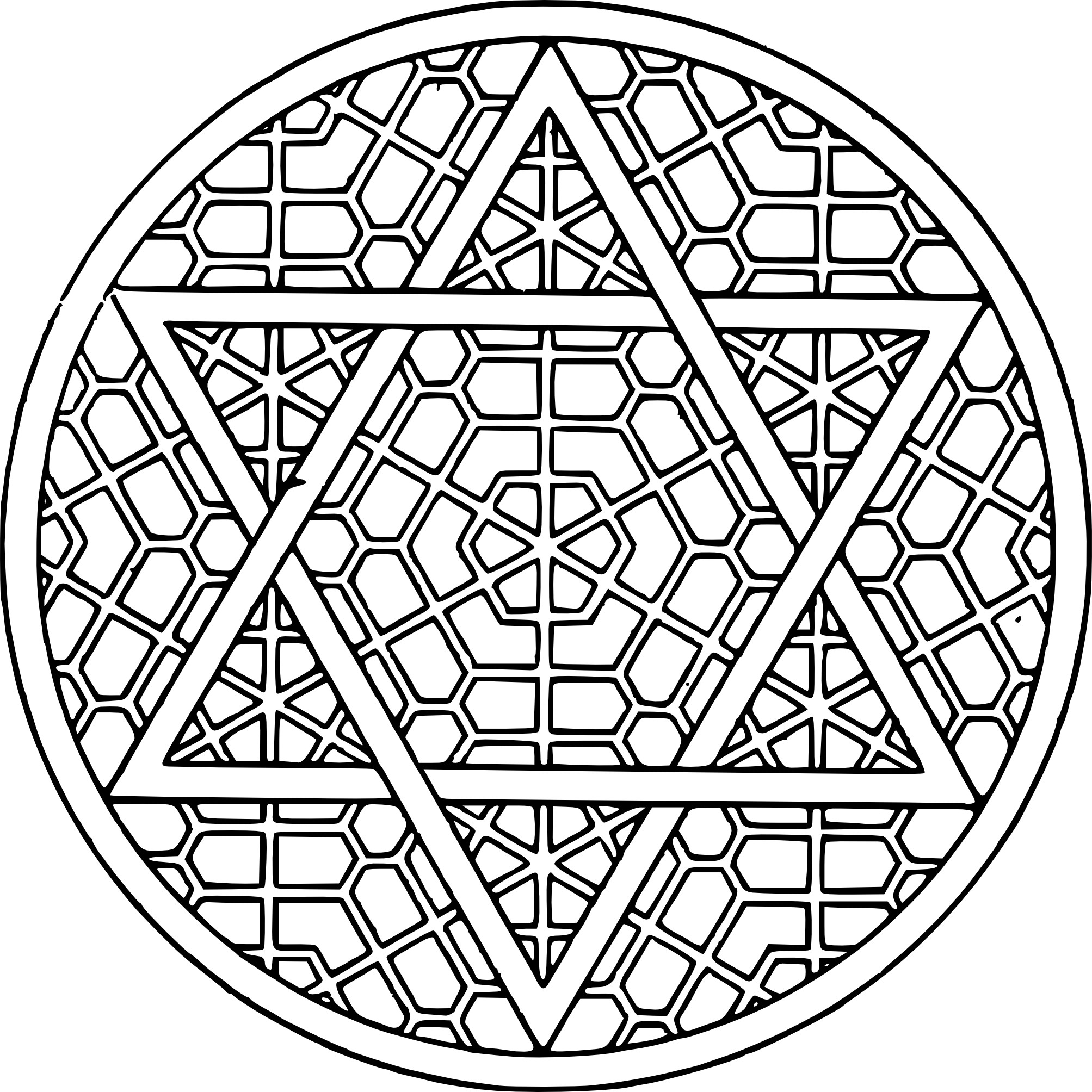Image Result For Hard Star Coloring Pages