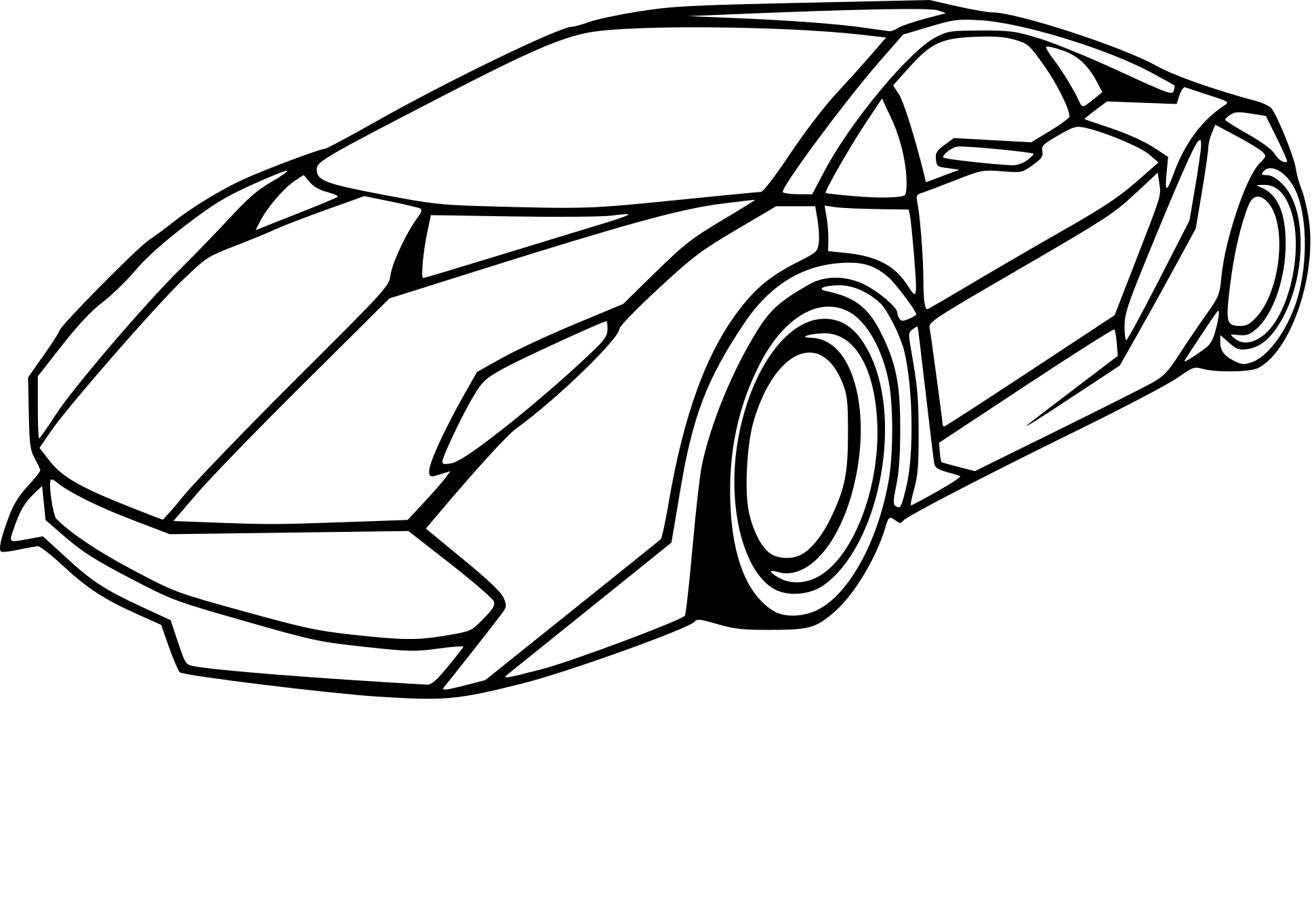 coloriage lamborghini dessin imprimer sur coloriages info. Black Bedroom Furniture Sets. Home Design Ideas