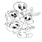 Coloriage Tiny Toons