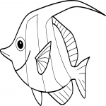Coloriage Poisson tropical
