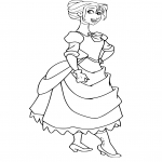 Coloriage Jane Porter