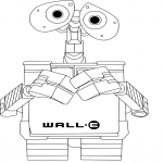 Coloriage Wall-E