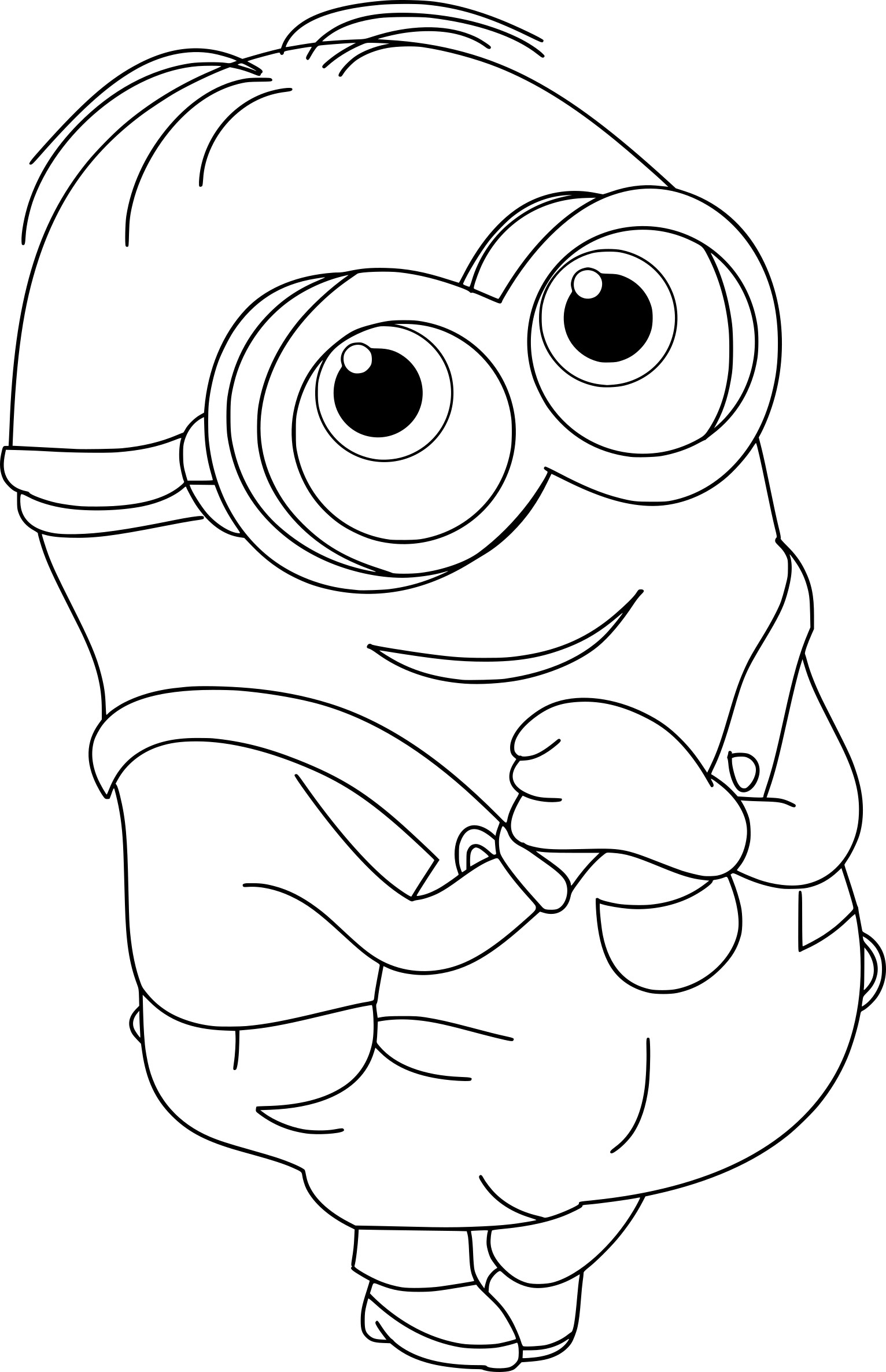 minion tim coloring pages - photo#27