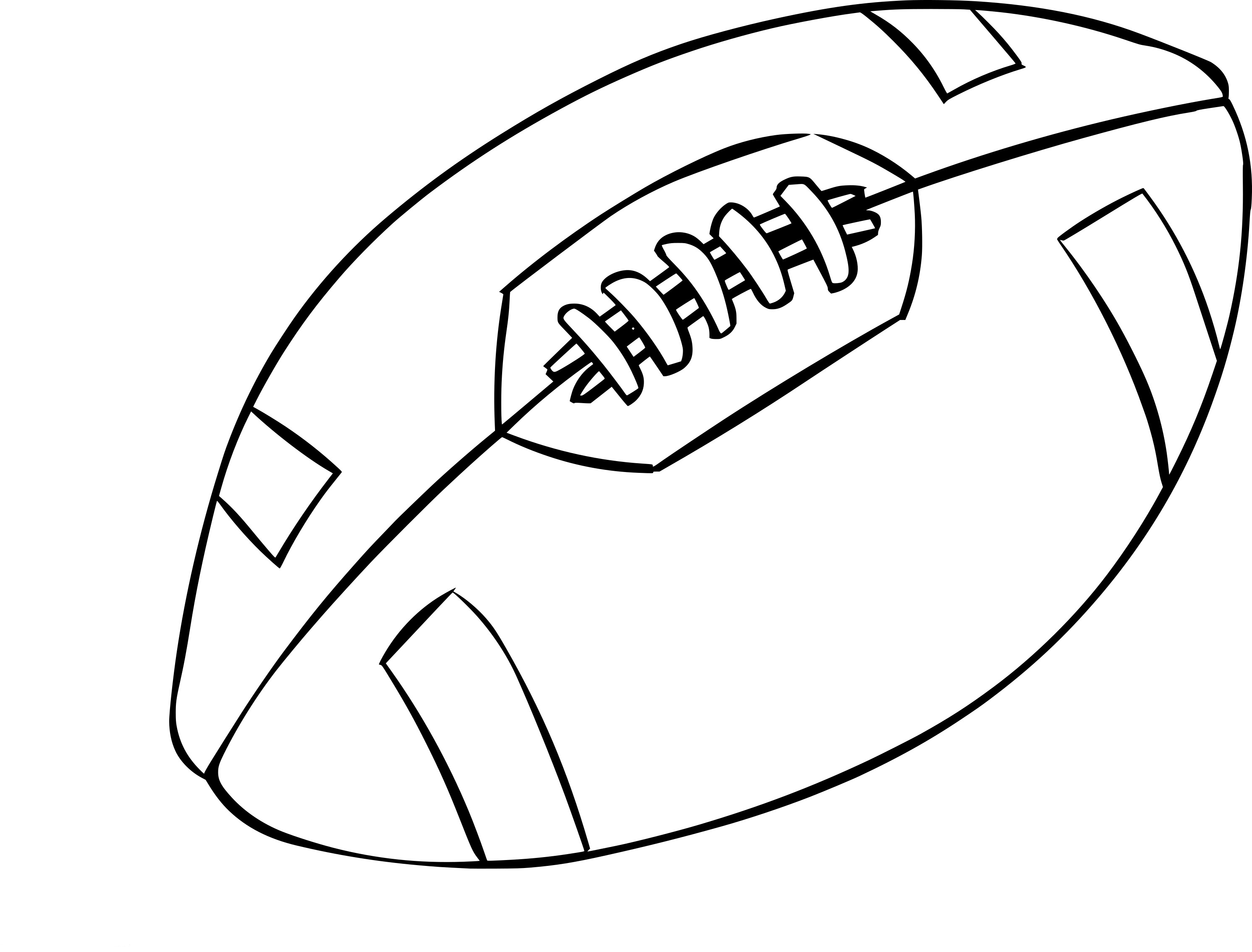 Coloriage Football Americain.Coloriage Football Americain Dessin A Imprimer Sur Coloriages Info