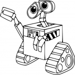 Coloriage Robot Wall-E