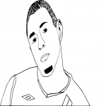 Coloriage Benzema