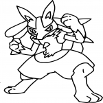 Lucario Pokemon
