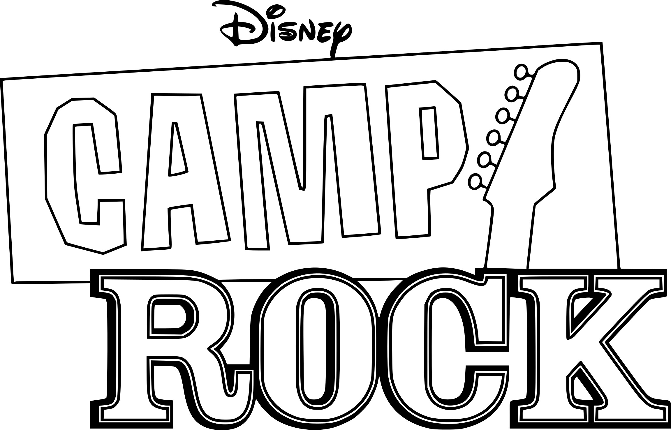 Coloriage camp rock imprimer sur coloriages info - Coloriage manga rock ...