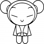 Coloriage Pucca