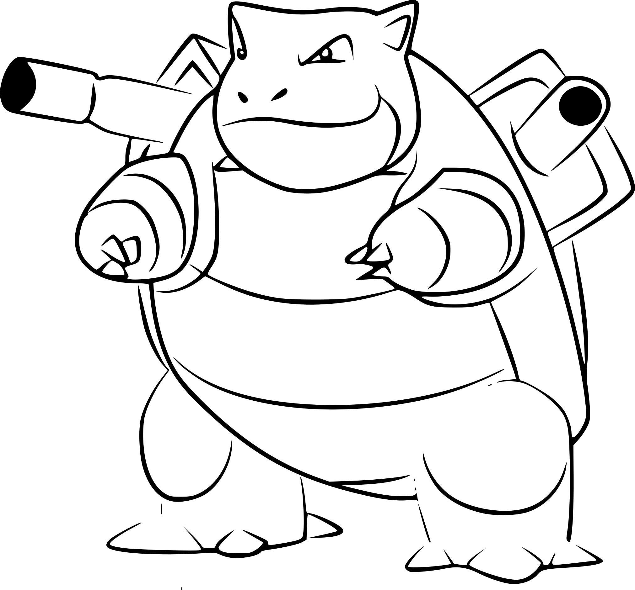 Coloriage Tortank Pokemon Go 224 Imprimer Sur Coloriages Info The Tank Coloring Pages