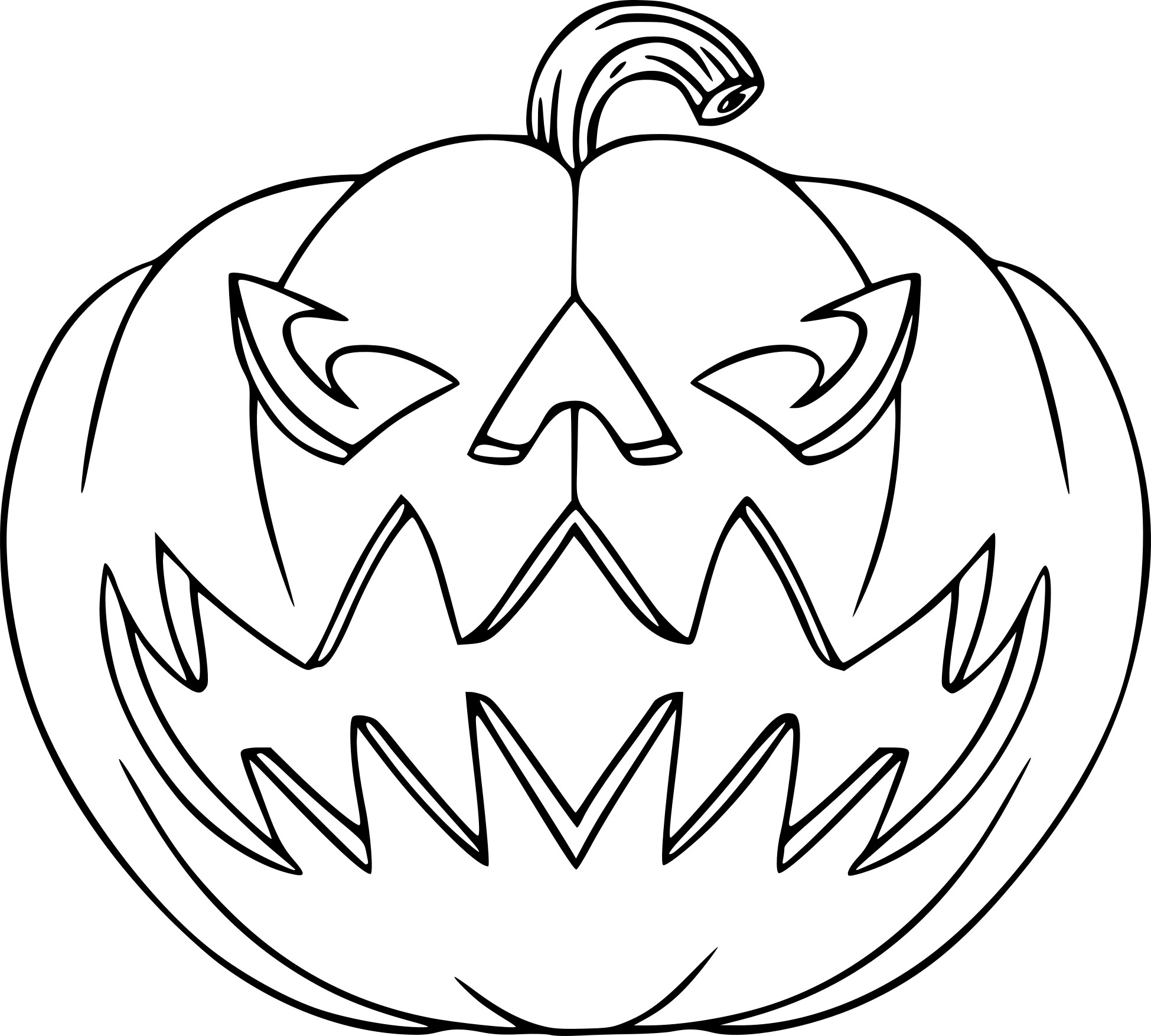 Coloriage jack o 39 lantern imprimer sur coloriages info for Jackolantern coloring pages