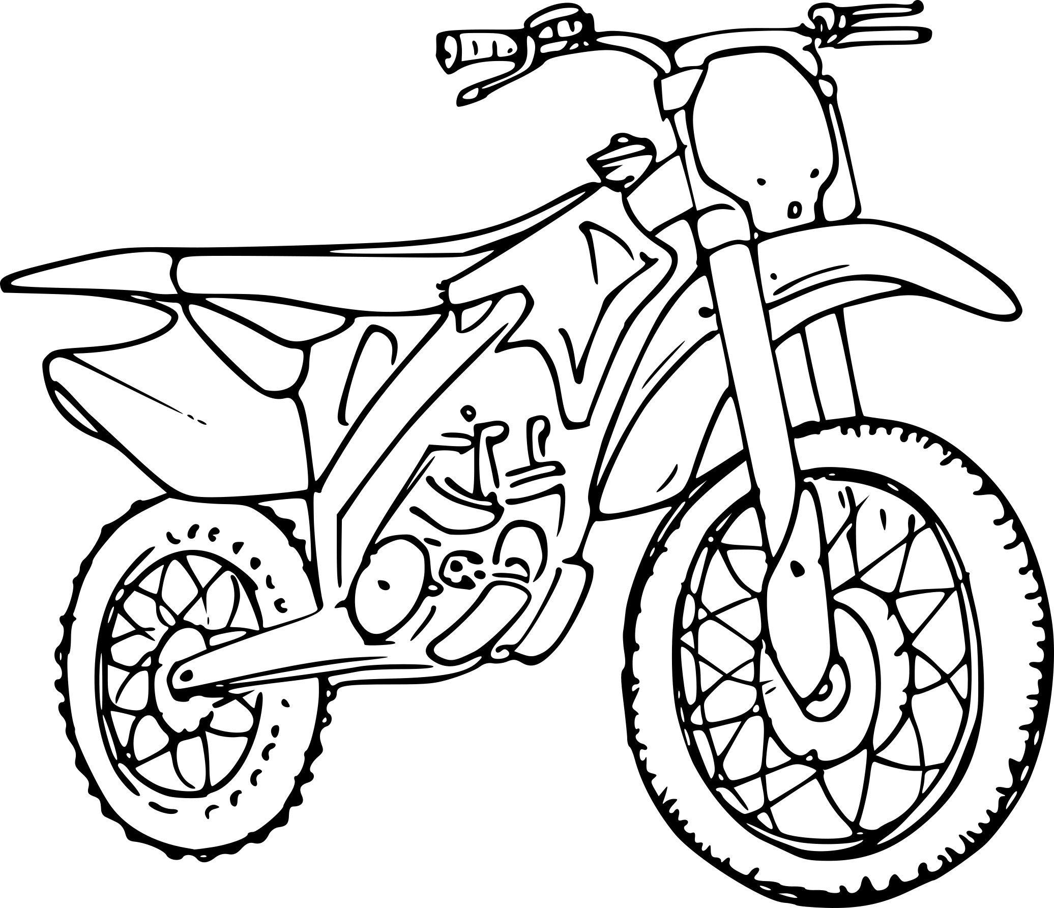 coloriage motocross dessin imprimer sur coloriages info. Black Bedroom Furniture Sets. Home Design Ideas