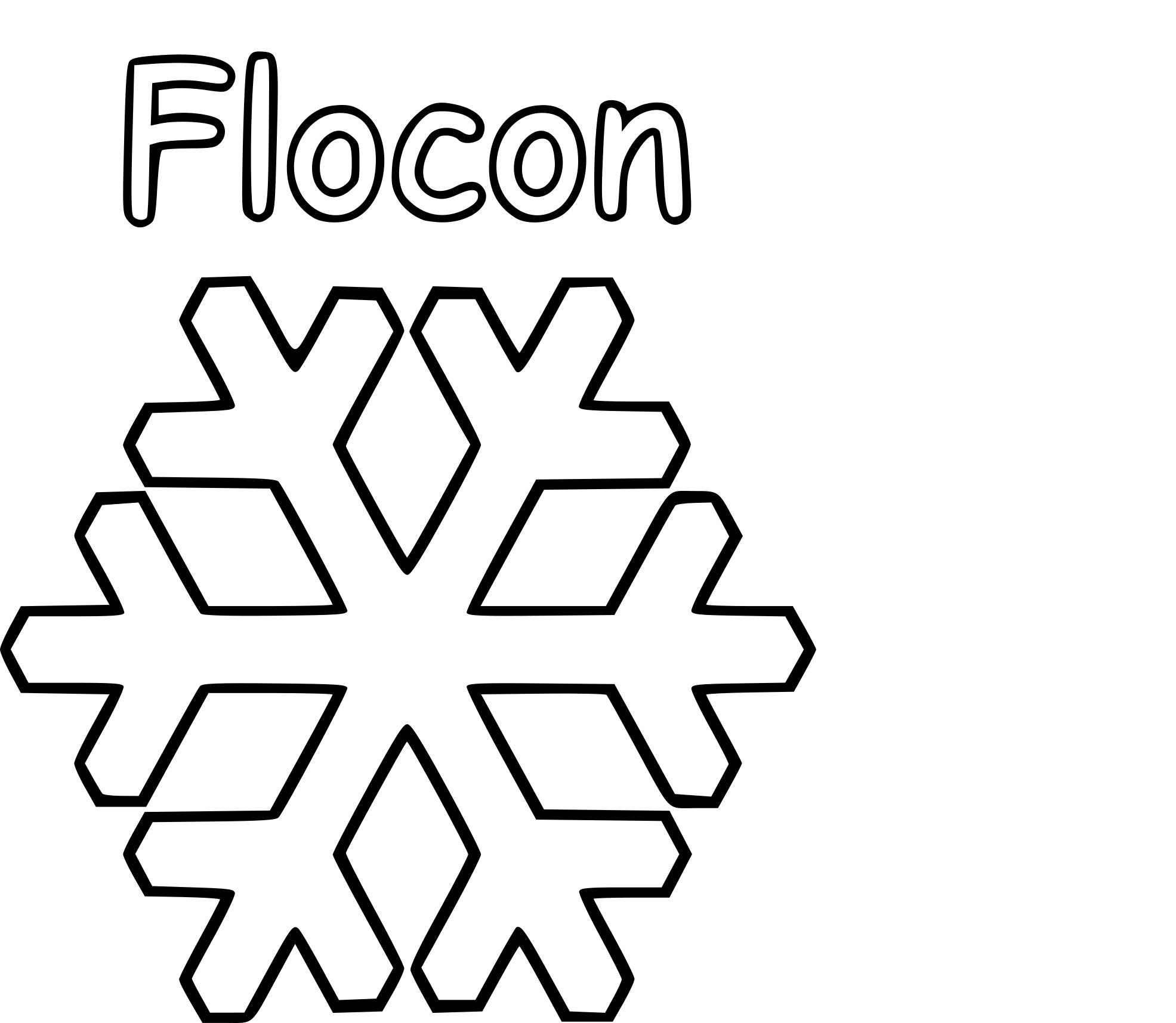 coloriage flocon de neige imprimer sur coloriages info. Black Bedroom Furniture Sets. Home Design Ideas