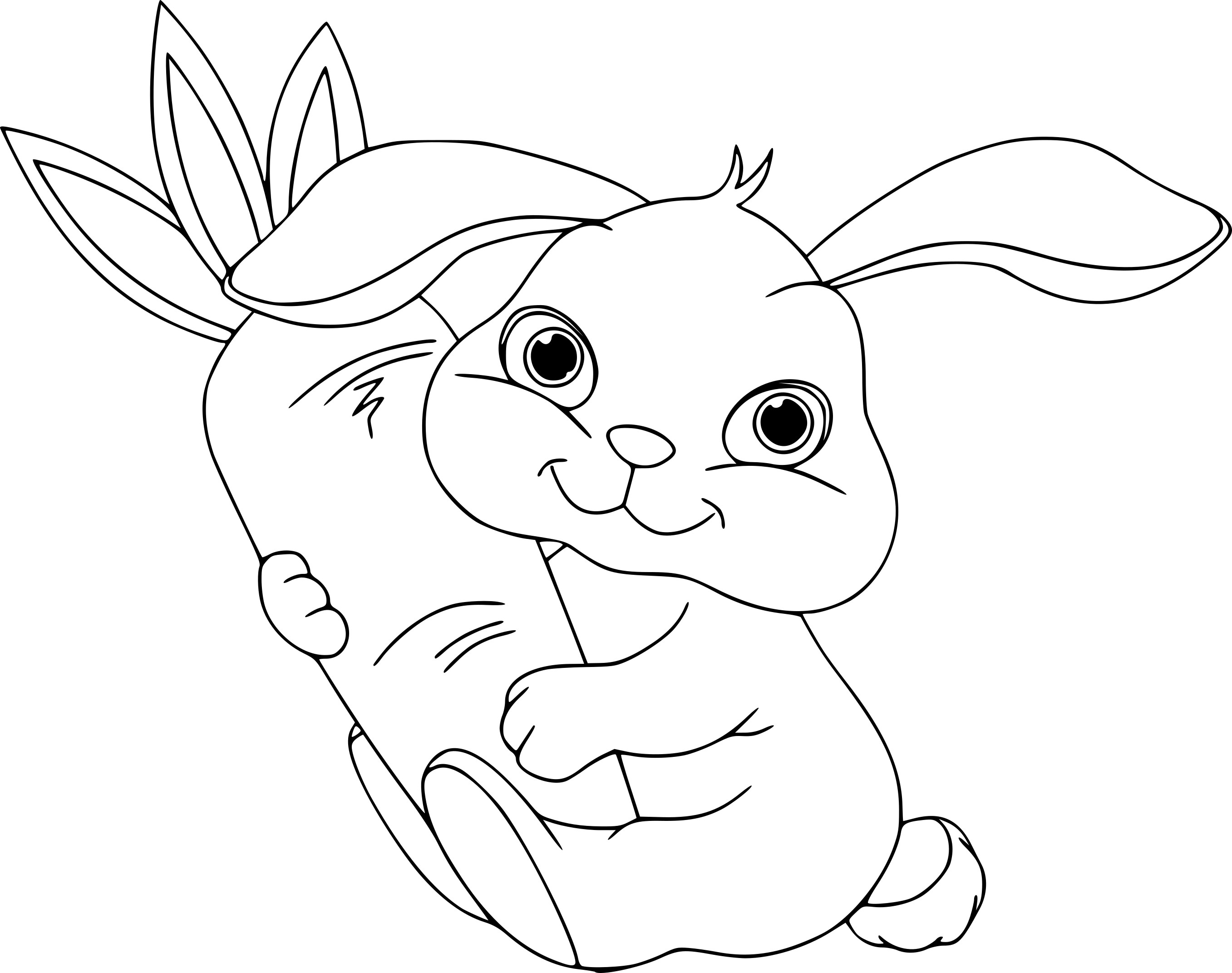 The gallery for disney descendants - Coloriages lapin ...