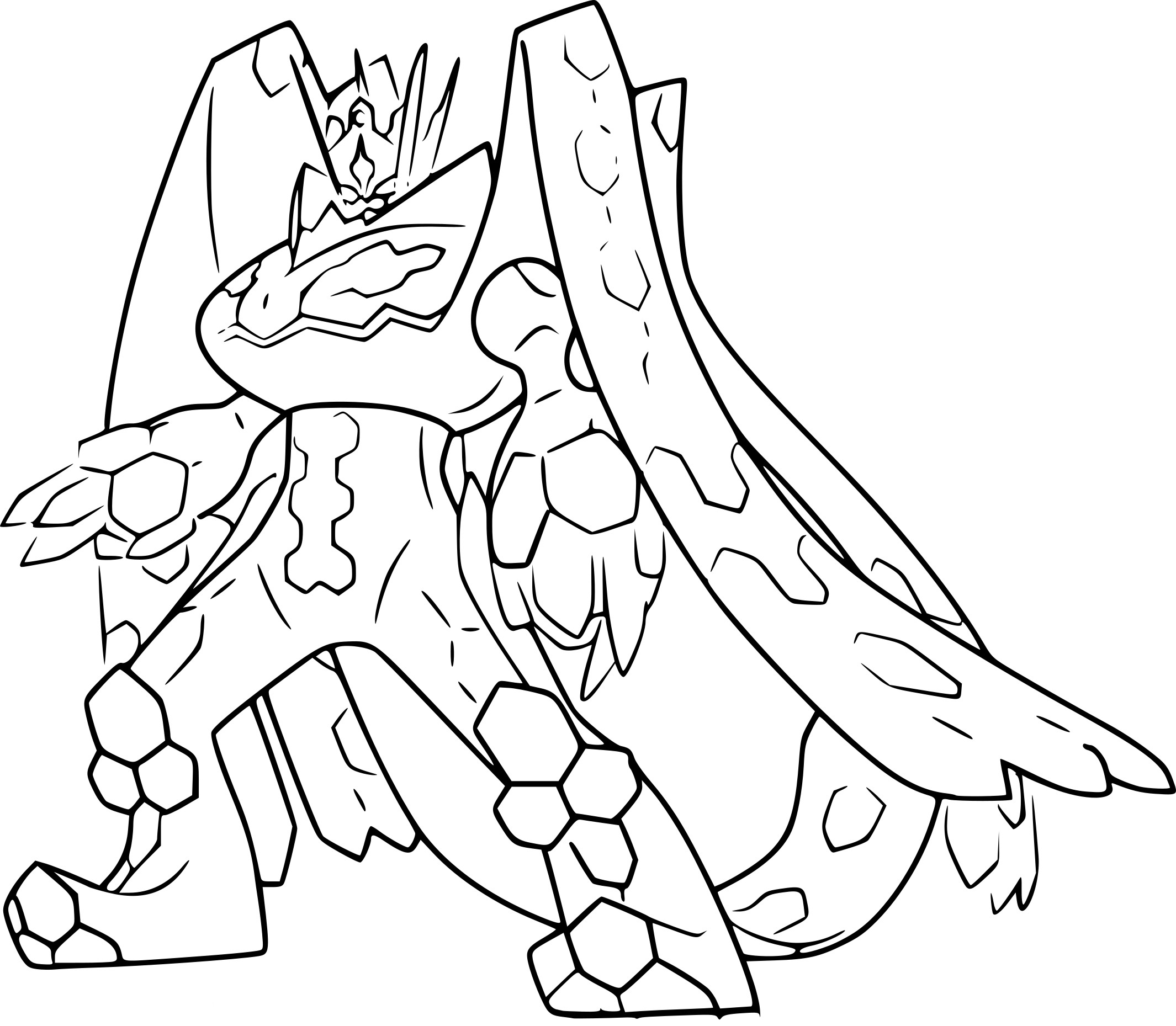 Zygarde Pokemon Coloring Coloring Pages Coloring Pages
