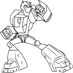 Coloriage Bumblebee Transformers