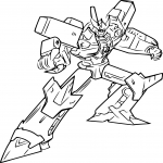 Coloriage Mégatron Transformers