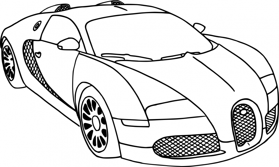 Coloriage automobile dessin imprimer sur coloriages info - Dessin automobile ...