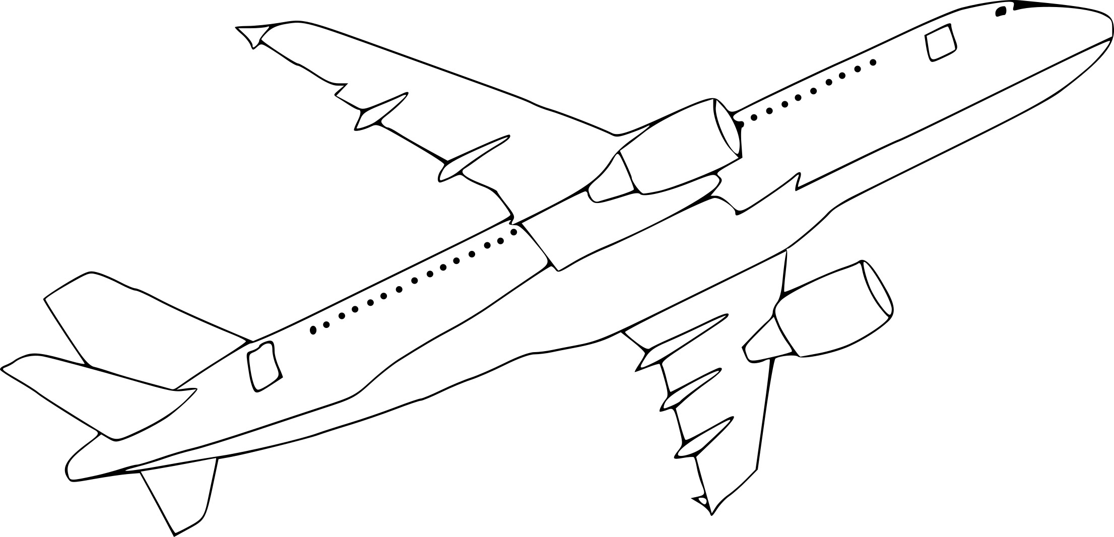 Coloriage avion a380 imprimer sur coloriages info - Dessin de avion ...