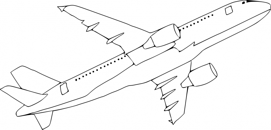 Coloriage avion a380 imprimer sur coloriages info - Coloriage avion ...