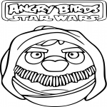Angry Birds Star Wars dessin dessin à colorier