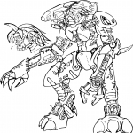 Coloriage Bionicle Lego