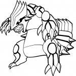 Groudon dessin