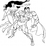 Wonder Woman et Superman