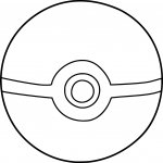 Coloriage Pokeball Pokemon