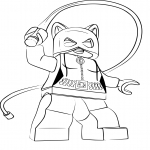 Coloriage Lego Catwoman