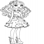 Coloriage Cupid Ever After High