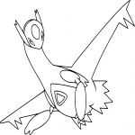 Coloriage Latios Pokemon
