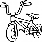 Bicyclette dessin
