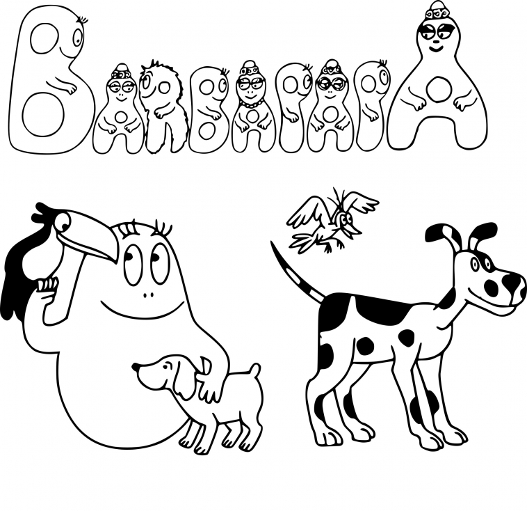 Barbapapa animaux