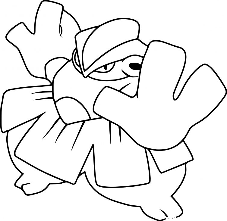 Image Result For Hariyama Coloring Pages