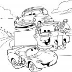 Coloriage Cars 1