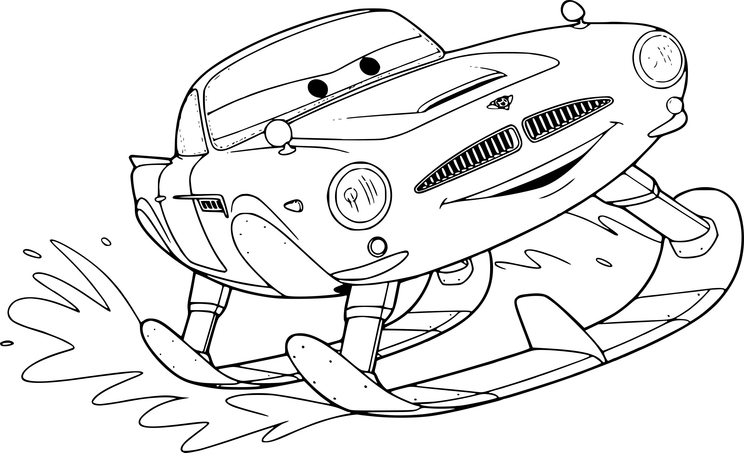 Coloriage avion missile meilleures id es coloriage pour for Finn mcmissile coloring page