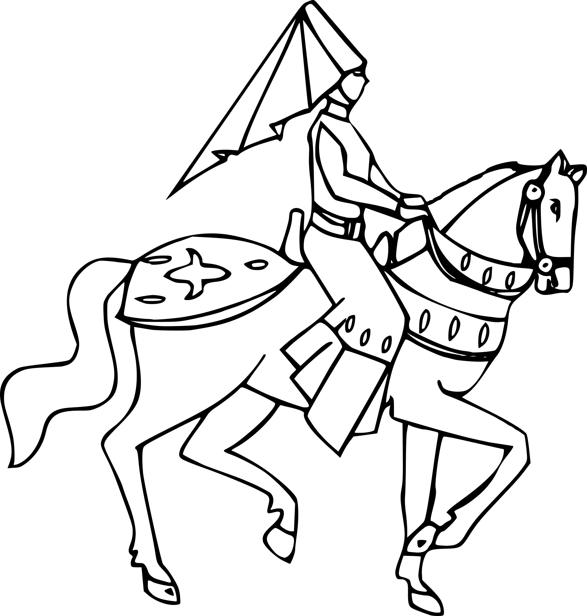 Coloriage Princesse Cheval Imprimer.Coloriages Coloriage Princesse Cheval Marnfozine Com