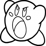 Coloriage Kirby dessin