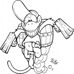 Diddy Kong dessin