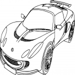 Coloriage Voiture Ford