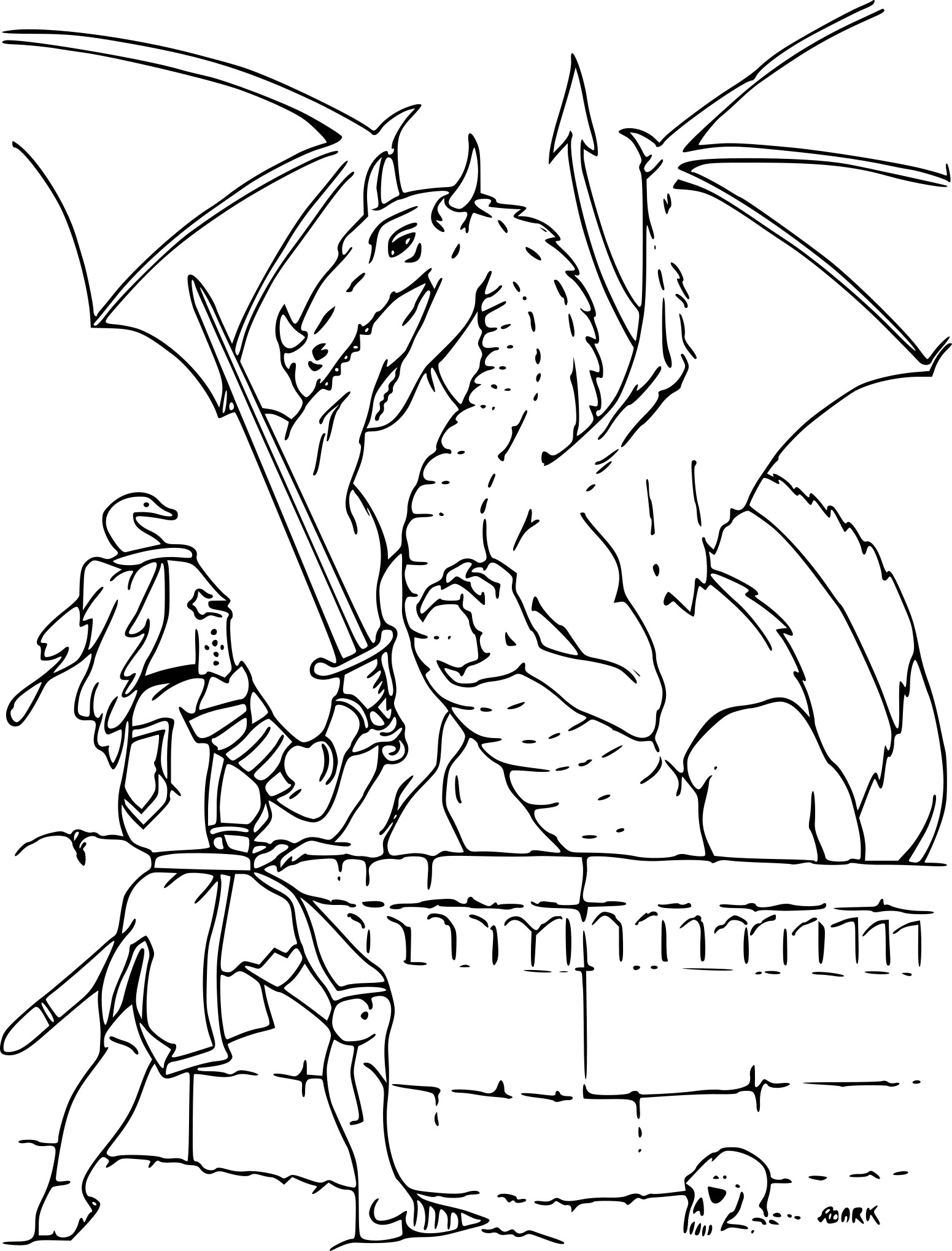 Coloriage Chevalier Dragon Heraldry Crest Blue And Black Google