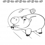 Coloriage Cochon Toy Story dessin