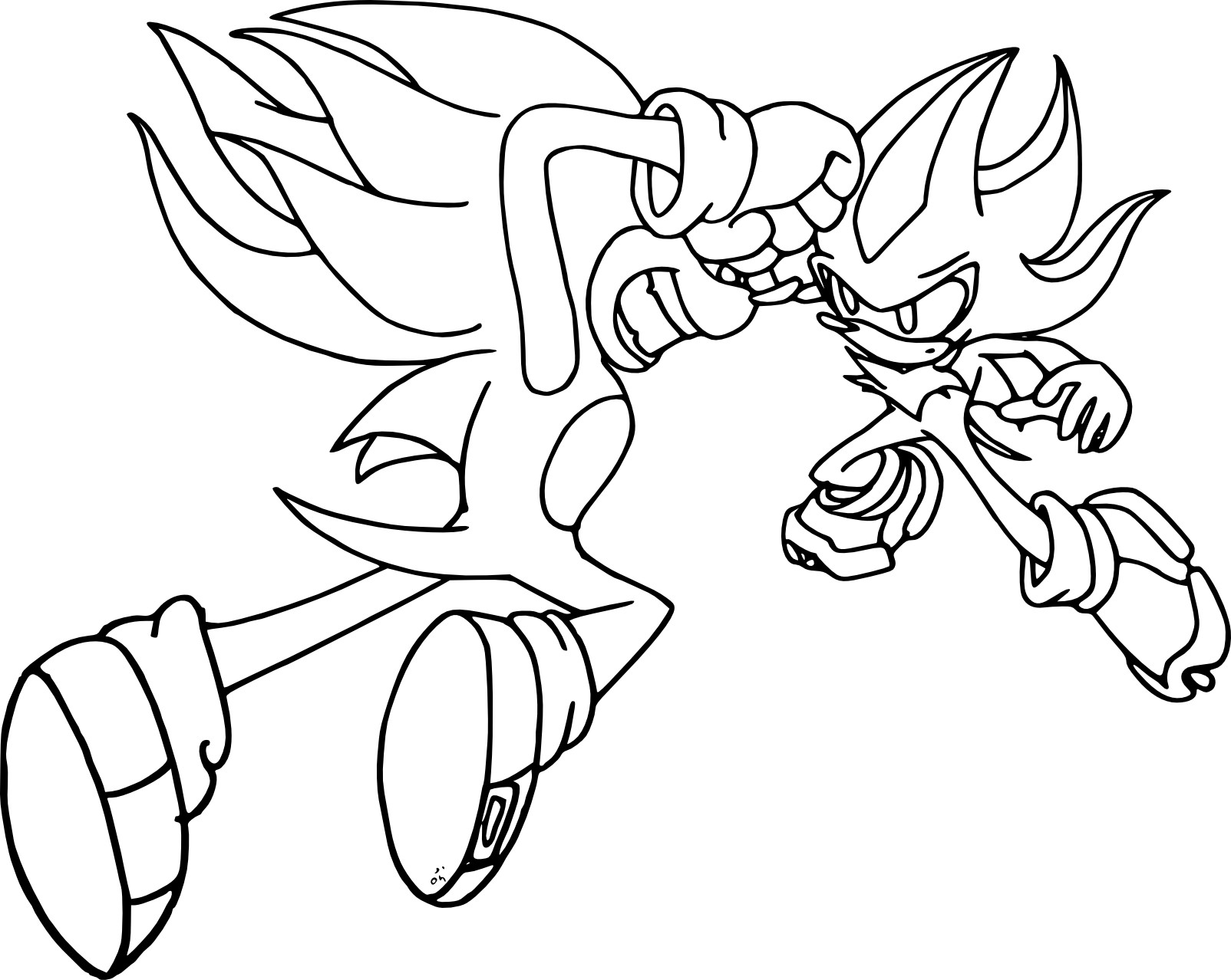Sonic Shadow Metal Sonic Color By Radiantragnarok On – Dibujos Para