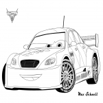 Coloriage Cars Max Schnell