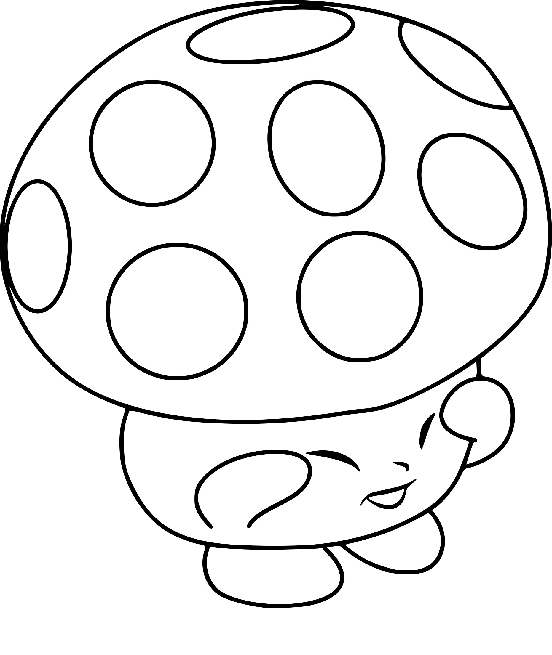 Howleen wolf coloring pages