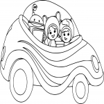 Coloriage Voiture Umizoomi