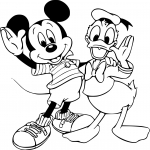 Mickey et Donald Duck